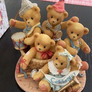 Cherished Teddies 5th Anniversary Figurine